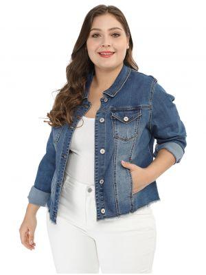 Women's Classic Plus Size Denim Jacket